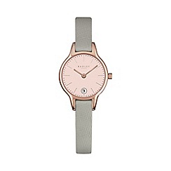 Radley - Ladies grey 'Long Acre' leather watch