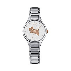 Radley - Ladies silver 'On The Run' link watch ry4243