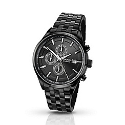 Sekonda - Men's black chronograph watch 1158.28