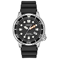 Citizen - Men's black 'Promaster Diver' watch