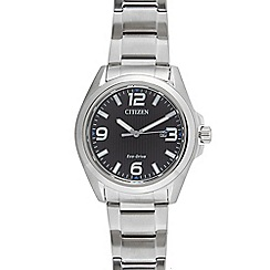 Citizen - Men's silver tone bracelet watch aw1430-86e