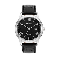 Citizen - Men's black strap watch