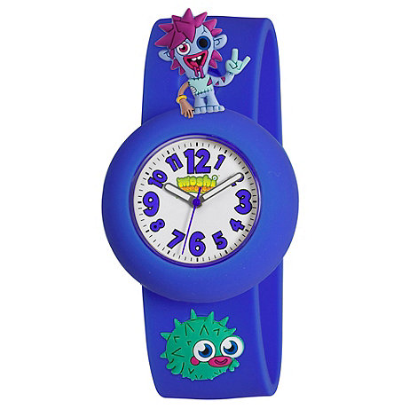 Moshi Monsters - Kids' blue 'zommer' watch