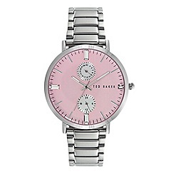 Ted Baker - Ladies pink dial bracelet watch