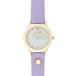 Floozie by Frost French - Ladies lilac sun watch