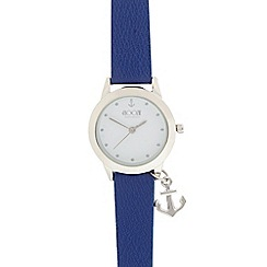 Floozie by Frost French - Ladies blue anchor watch