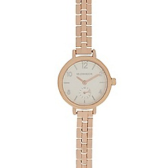 RJR.John Rocha - Ladies rose gold bracelet watch