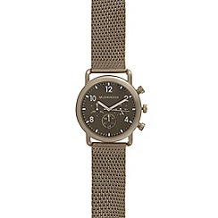 RJR.John Rocha - Grey mesh chronograph watch