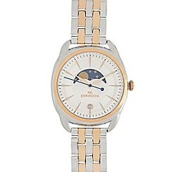RJR.John Rocha - Ladies rose and silver plated day and night dial analogue watch