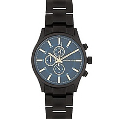 Red Herring - Men's black mock multi-dial watch
