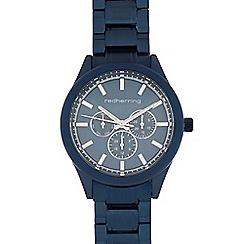 Red Herring - Men's dark blue mock multi-dial watch