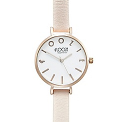 Floozie by Frost French - Ladies light pink analogue watch
