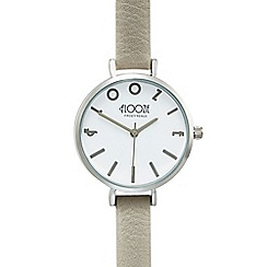 Floozie by Frost French - Ladies taupe analogue watch