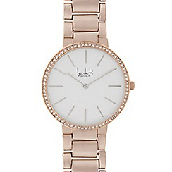 Principles by Ben de Lisi - Ladies rose gold analogue watch