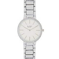 Principles by Ben de Lisi - Ladies silver linked strap watch
