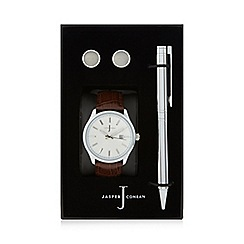 J by Jasper Conran - Pen, cufflink and watch gift set