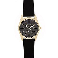 Red Herring - Men's black analogue watch