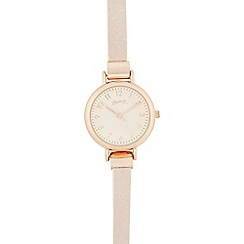 Mantaray - Light pink analogue watch