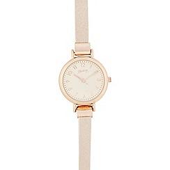Mantaray - Light pink analogue watch