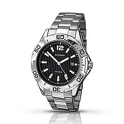 Sekonda - Men's black dial bracelet watch 1171