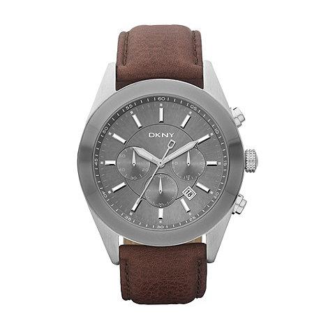 DKNY - Men+s grey dial watch