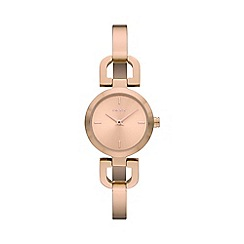 DKNY - Ladies rose bracelet watch