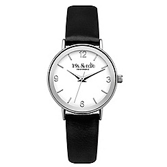 Iris & Edie - Ladies black bezel watch
