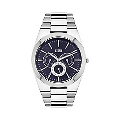 STORM London - Men's silver 'Tuxan' multifunction watch tuxan blue