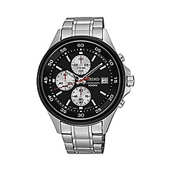 Seiko - Gents Stainless Steel Chronograph Bracelet Watch sks483p1