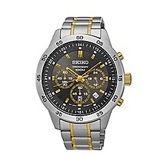 Seiko - Gents Stainless Steel Chronograph Bracelet Watch sks525p1