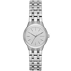 DKNY - Ladies silver 'Park Slope' bracelet watch