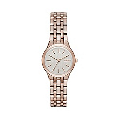 DKNY - Ladies rose gold tone 'Park Slope' bracelet watch ny2492