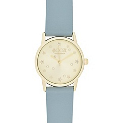 Floozie by Frost French - Ladies grey 'Scattered Star' round watch