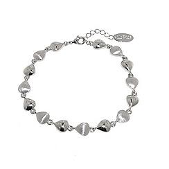 Finesse - Rhodium eardrop bracelet