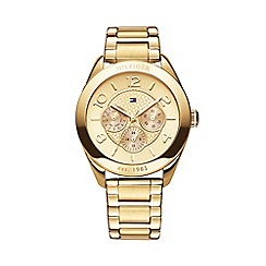 Tommy Hilfiger - Ladies gold chronograph dial bracelet watch 1781214