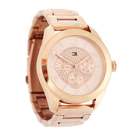 Tommy Hilfiger - Ladies rose chronograph dial bracelet watch