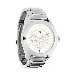 Tommy Hilfiger - Ladies silver chronograph dial bracelet watch
