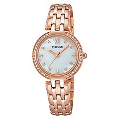 Pulsar - Ladies RGP bracelet watch