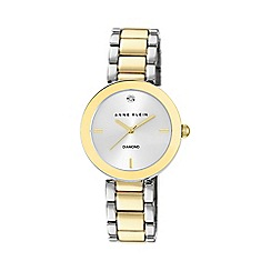 Anne Klein - Womens quartz watch with a gold dial analogue display ak/n1363svtt