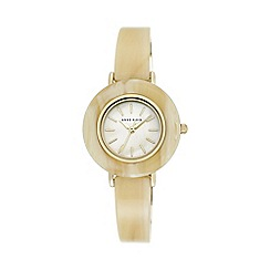 Anne Klein - Womens watch with cream Mother of Pearl dial. ak/n2524cmhn