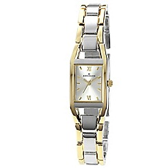 Anne Klein - Womens quartz watch with silver dial analogue display 10/n6419svtt