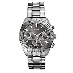 Guess - Men's grey watch with Stainless steel bracelet