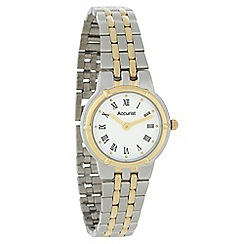 Accurist - Ladies silver matte bracelet watch