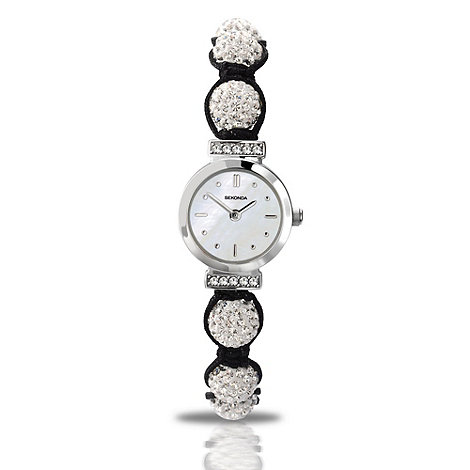 Sekonda - Ladies white +crystalla+ wrist watch