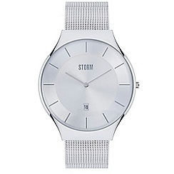 STORM London - Gents silver REESE mesh strap watch reese xl silver