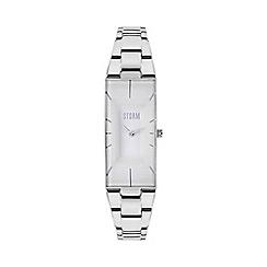 STORM London - Ladies silver IXIA metal strap watch ixia silver