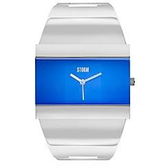 STORM London - Ladies lazer blue STARLETTI metal strap watch strleti laz blu
