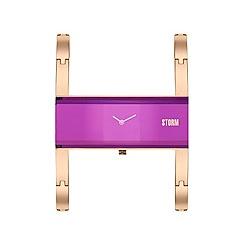 STORM London - Ladies purple AKIKO metal strap watch akiko rg purple