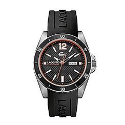 Lacoste - Men's black strap watch