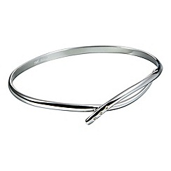 Hot Diamonds - Sterling silver 'Alluring' bangle